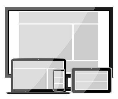 Responsywny prototyp strony internetowej