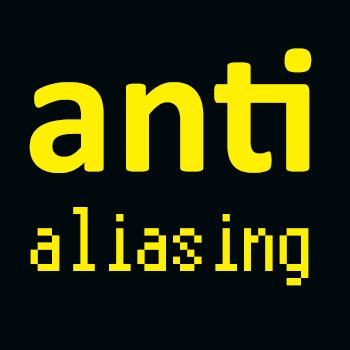 Antialiasing - koniec postrzępionego tekstu
