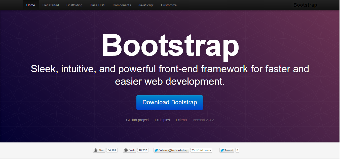 Bootstrap 2.3.2