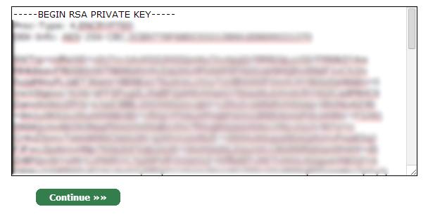 Private Key SSL