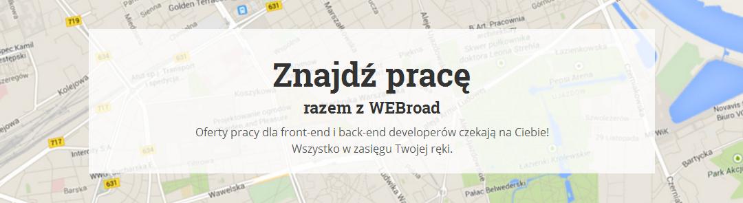Praca dla webmasterów