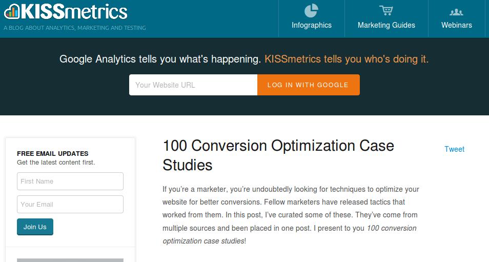100 przypadków optymalizacji stron internetowych
