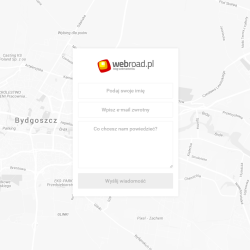 Google Maps as a contact form background