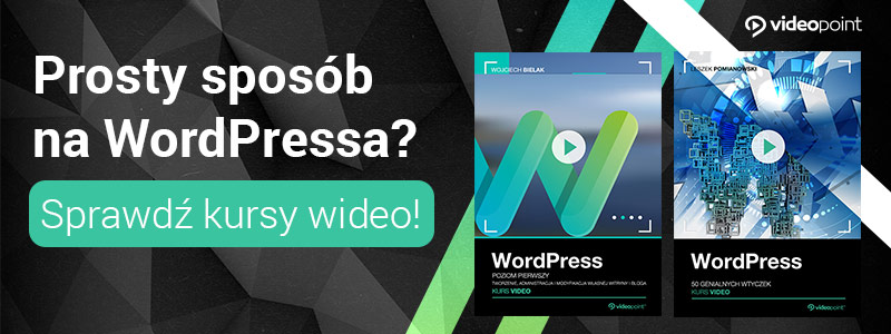 Kursy wideo WordPress