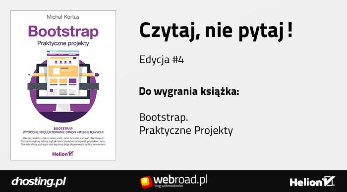Bootstrap. Praktyczne Projekty. Michał Kortas