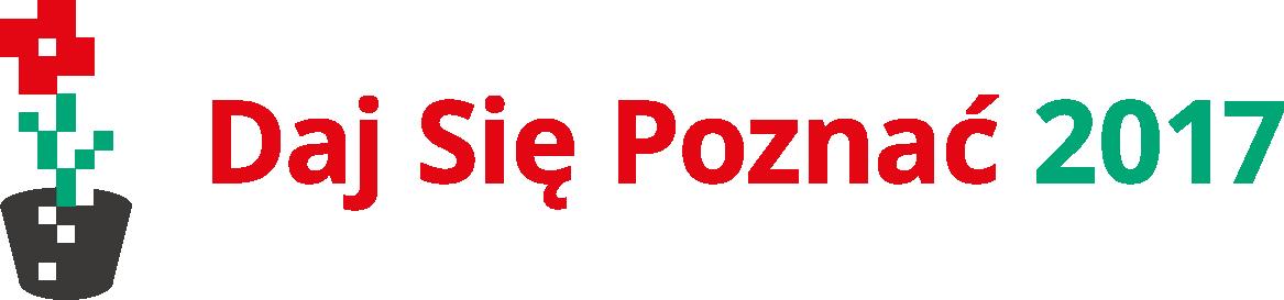 Daj Się Poznać 2017 - logo