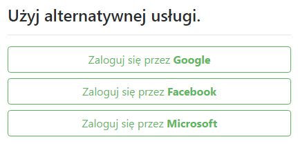 OAuth - Facebook, Google, Microsoft