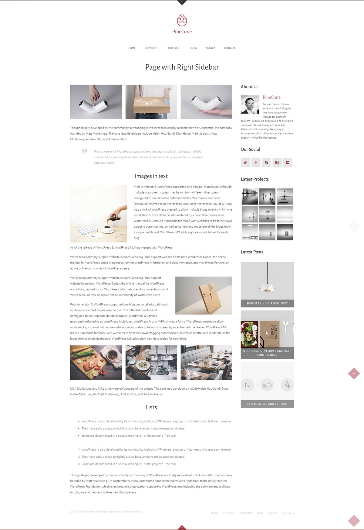 Blog - wersja 1