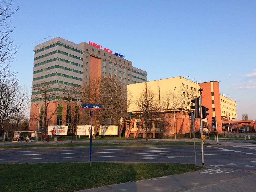 Sangate Hotel Airport. Okęcie. Warszawa.