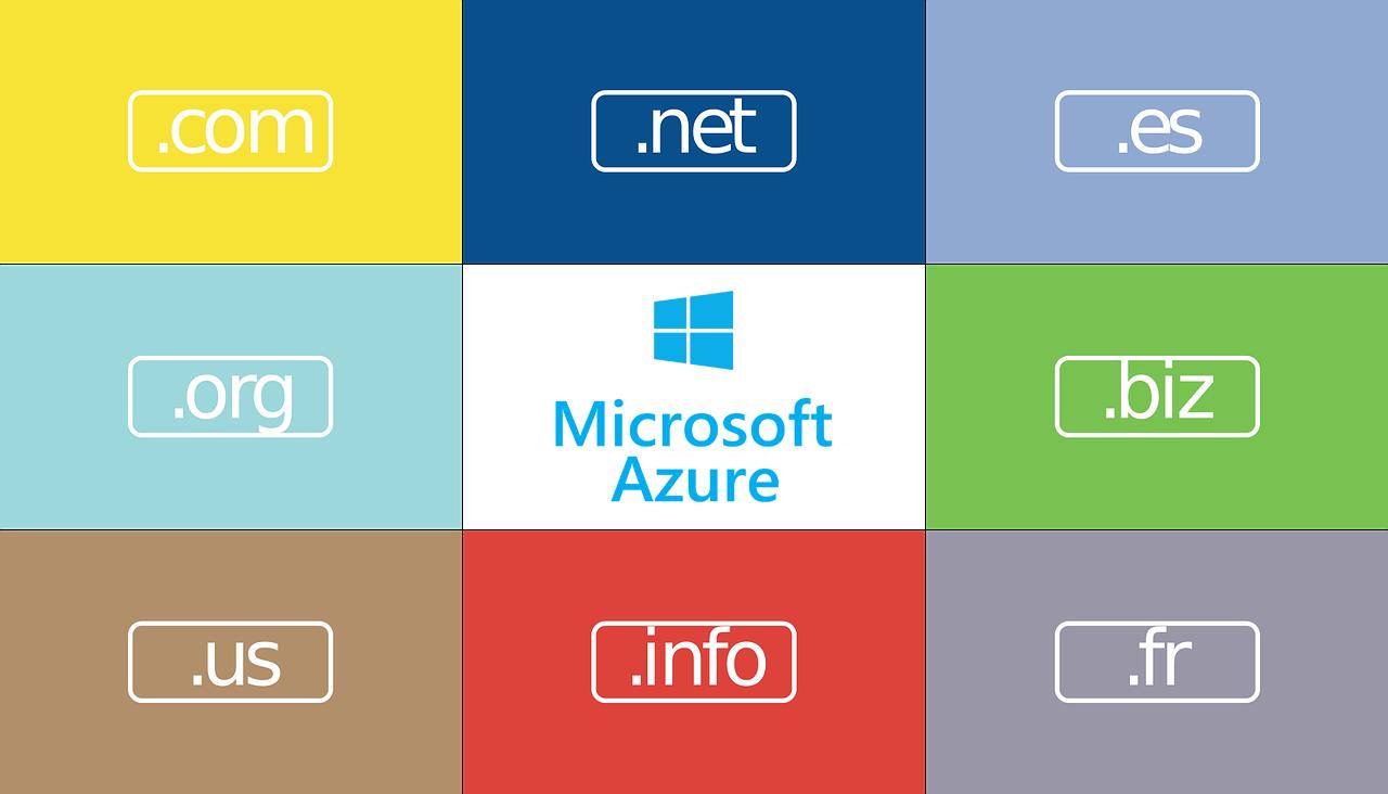 Własna domena w Microsoft Azure