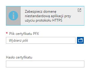 Wybieranie certyfikatu