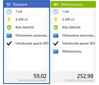 Zakup SSL przez Azure