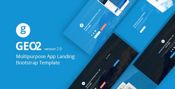 Ładny szablon dla Bootstrapa 3, w stylu Landing Page