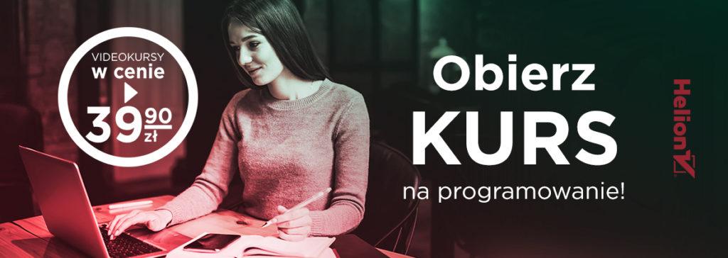 Kursy w helion.pl za 39 zł