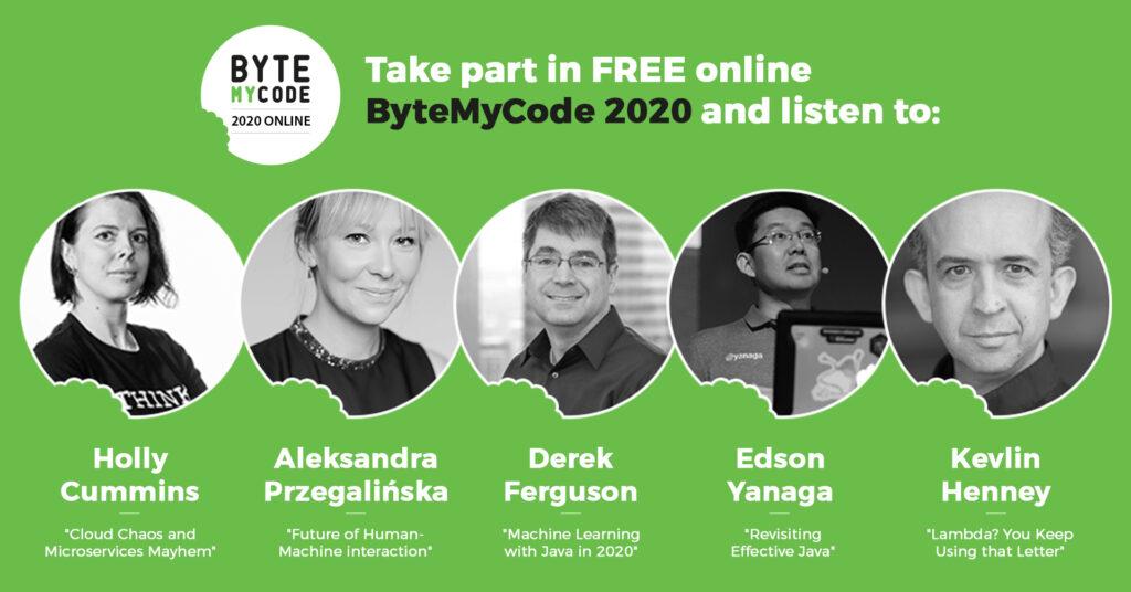 ByteMyCode 2020 - prelegenci