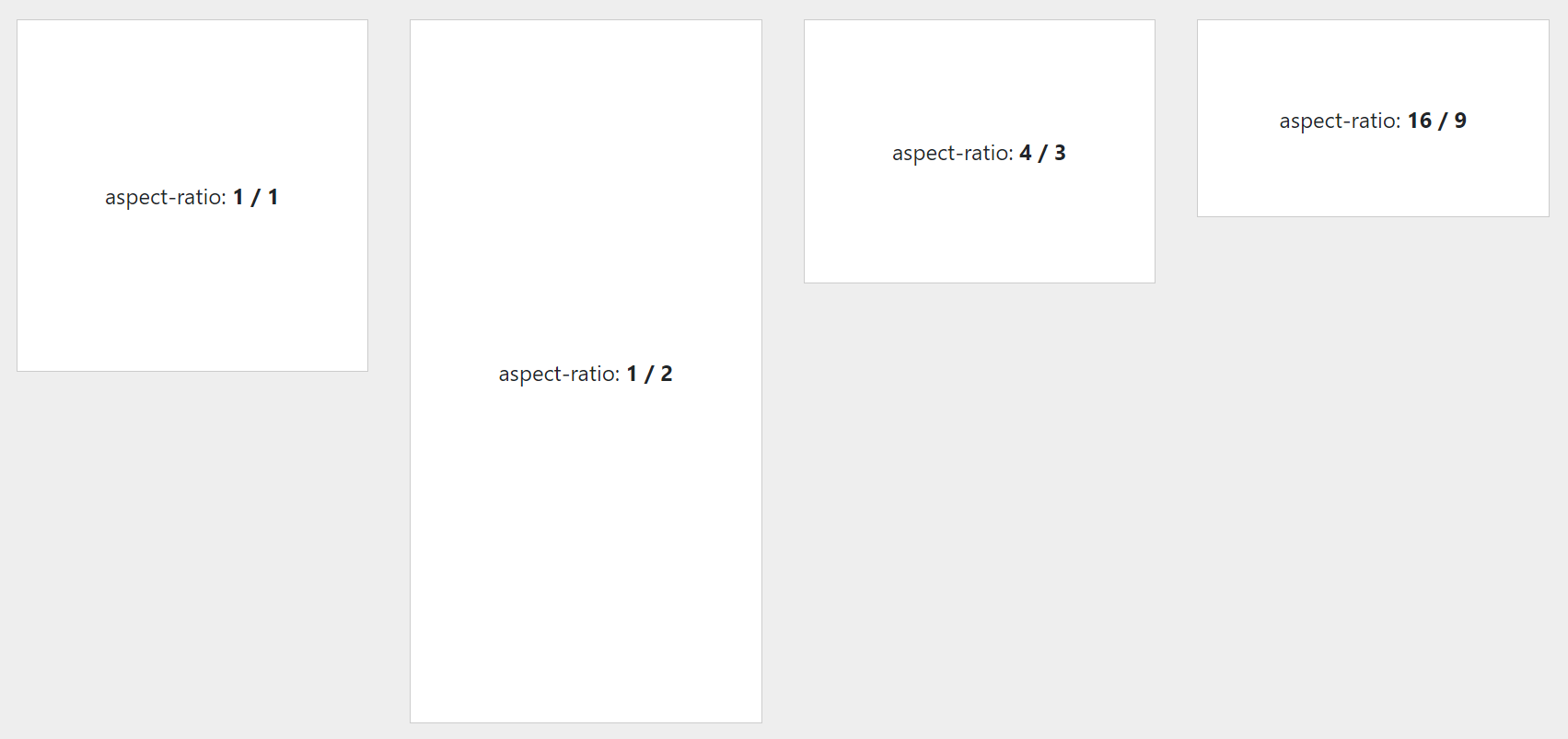 Współczynnik proporcji, aspect-ratio w CSS
