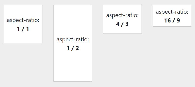 Responsywność i aspect-ratio